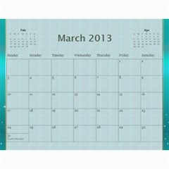 2013 By Terry   Wall Calendar 11  X 8 5  (12 Months)   Xml2cr905hz3   Www Artscow Com Mar 2013
