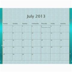Mom By Terry   Wall Calendar 11  X 8 5  (12 Months)   Suqx7ytq71eg   Www Artscow Com Jul 2013