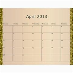 Mom By Terry   Wall Calendar 11  X 8 5  (12 Months)   Suqx7ytq71eg   Www Artscow Com Apr 2013