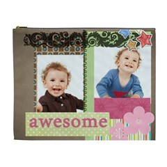 Kids, Love, Family, Happy, Play, Fun By Jo Jo   Cosmetic Bag (xl)   19ql4uku4scq   Www Artscow Com Front