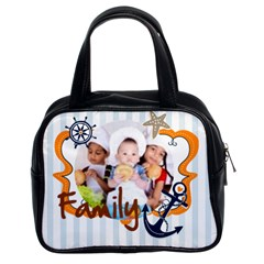 Kids Of Love By Mac Book   Classic Handbag (two Sides)   F8zbfqvhfmva   Www Artscow Com Front