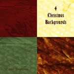 4 Christmas Backgrounds