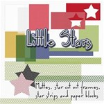 Little Stars - Strips, Star Frames & Stars