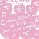 99 Valentine Candy Embellishments