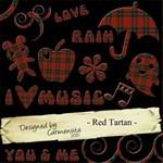 Carmensita Kit - Red tartan FULL ALPHA