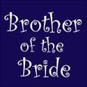 cufflink navy brother bride