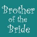 cufflink teal brother bride