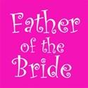 cufflink hot pink father bride