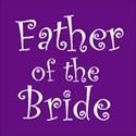 cufflink purple father bride