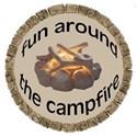fun around campfire tag