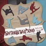 Snowboarding with complete alphabet