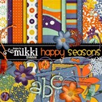 Happy Seasons +pages by Mikki