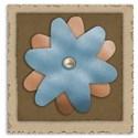 flower cardboard embellishment