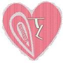 true love mesh heart