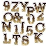 Golden Alphabets