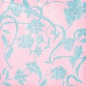 scatter sunshine_pink & blue  floral