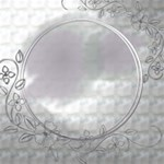 Button/Magnet/sticker  Design-Silver