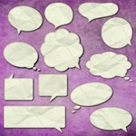 Thought and Speech Bubbles