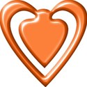 heartclip_orange_mikkilivanos