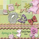 Preview for Spring in Time 12x12 kit preview