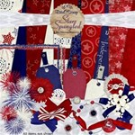Star Spangled Scrap Kit