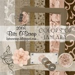 Colors of January Scrap Kit