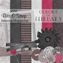 Colors of February-BitsO Scrap