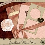 FREE - Caroline Mini Kit by Benilda Scraps