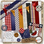 Cowboy Days Mini Scrapbook Kit