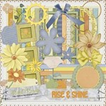 Rise and Shine Scrap Kit