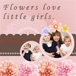 Flower Love Little Girls