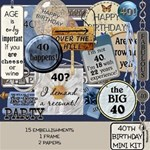 40th Birthday Kit
