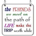 Friends Word Art - 06