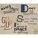 Dance Word Art