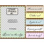 Stamp Frames #1
