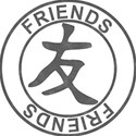 Japanese Symbol Stamps - FRIENDS