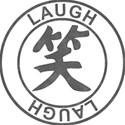 Japanese Symbol Stamps - LAUGH