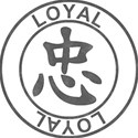 Japanese Symbol Stamps - LOYAL