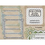Scalloped Glass Frames