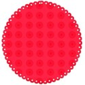 red circle matte