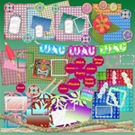 Luau party huge mega kit-