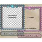 Baby Arrival Frames