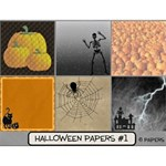 Halloween Papers #1