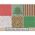 Christmas Paper Pack #1