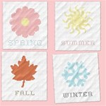 Cross Stich Seasons