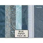 Blue Paper Pack #1