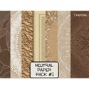 Neutral Paper Pack #1