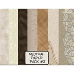 Neutral Paper Pack #2