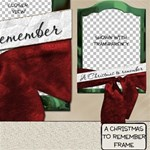A Christmas To Remember Frame