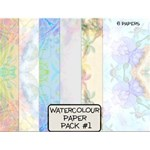 Water Colour Paper Set